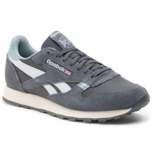 Reebok Chaussures Cl Leather Mu CN7179 True Grey/Teal Fog/Stucco