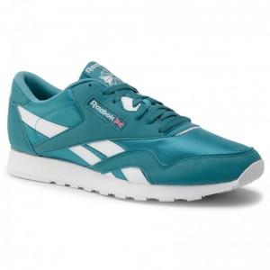 Reebok Chaussures Cl Nylon Color CN7445 Mineral Mist/White