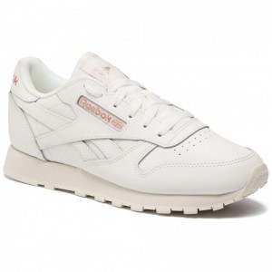 Black Friday 2020 | Reebok Chaussures Cl Lthr DV3762 Chalk/Rose Gold/Paper Whi