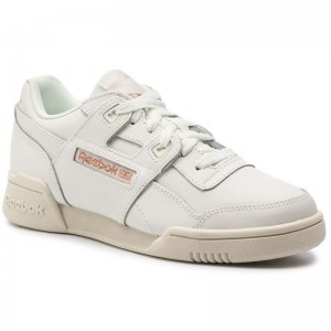 Black Friday 2020 | Reebok Chaussures Workout Lo Plus DV3776 Sea Spray/White/Silver