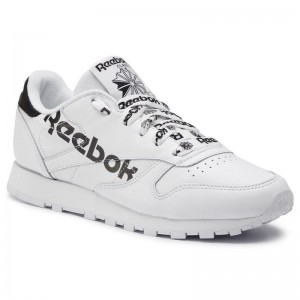 Black Friday 2020 | Reebok Chaussures Cl Lthr DV3830 White/Black