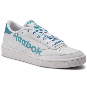 Black Friday 2020 | Reebok Chaussures Club C 85 DV3832 Porcelain/Mineralmist/Wht