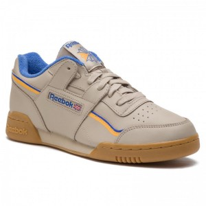 Reebok Chaussures Workout Plus Mu DV4298 Light Sand/Cobalt/Gold