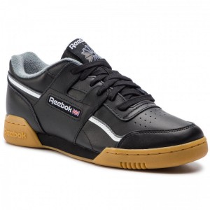 Black Friday 2020 | Reebok Chaussures Workout Plus Mu DV4300 Black/White/Alloy