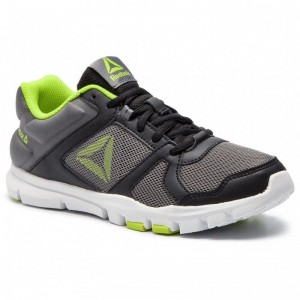 Reebok Chaussures Yourflex Train 10 CN8603 Black/Alloy/Neon Lime