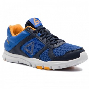 Reebok Chaussures Yourflex Train 10 CN8604 Navy/Cobalt/Gold