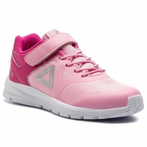 Black Friday 2020 | Reebok Chaussures Rush Runner Alt DV4441 Pink/Silver Met