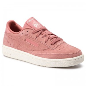 Reebok Chaussures Club C 85 CN7027 Baked Clay/Sleek Met/Chlk