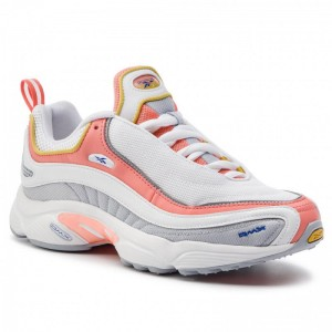 Black Friday 2020 | Reebok Chaussures Daytona Dmx Mu CN7406 White/Cold Grey/Pink