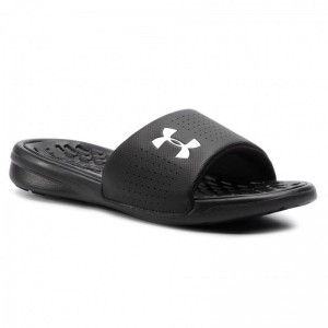 Black Friday 2020 | Under Armour Mules / sandales de bain Ua M Playmaker Fix Sl 3000061-001 Blk
