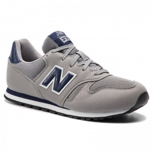 New Balance Sneakers YC373GN Gris