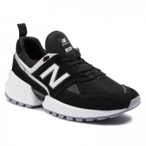 New Balance Sneakers MS574NSE Noir Rouge