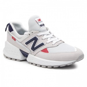 New Balance Sneakers MS574GNC Beige Gris