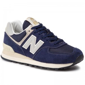 New Balance Sneakers ML574VLA Bleu marine