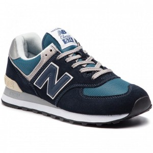 New Balance Sneakers ML574ESS Bleu marine