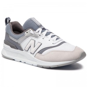 New Balance Sneakers CW997HED Blanc Gris