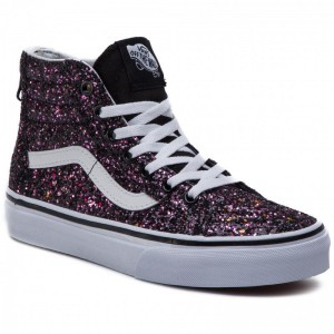Black Friday 2020 | Vans Sneakers Sk8-Hi Zip VN0A3276VIQ1 (Glitter Stars) Black/Tru