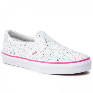 Black Friday 2020 | Vans Tennis Classic Slip-On VN0A32QIVI61 (Glitter Stars) True Whit