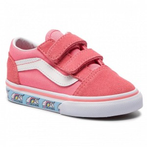 Vans Tennis Old Skool V VN0A344KVE01 (Unicorn) Strawberry Pink