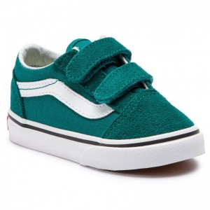 Vans Tennis Old Skool V VN0A344KVFE1 Quetzal Green/True White