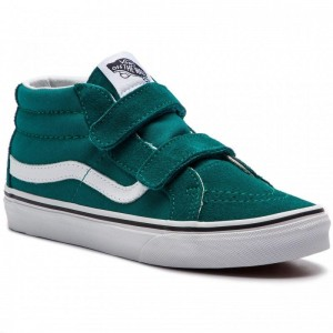 Black Friday 2020 | Vans Sneakers SK8-Mid Reissue V VN0A346YVFE1 Quetzal Green/True White
