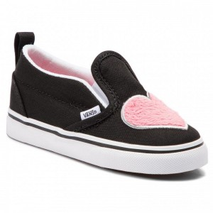 Vans Tennis Slip-On V VN0A3488VJC1 (Fur Heart) Strawberry Pi