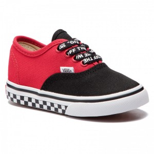 Black Friday 2020 | Vans Tennis Authentic VN0A38E7VI71 (Logo Pop) Black/True Whi