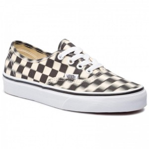 Vans Tennis Authentic VN0A38EMVJM1 (Blur Check) Black/Classi