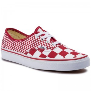 [Vente] Vans Tennis Authentic VN0A38EMVK51 (Mix Checker) Chili Peppe