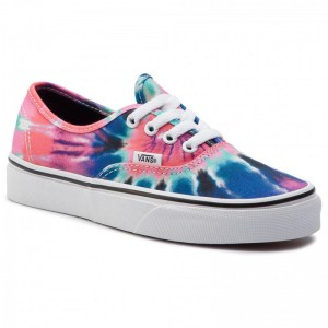 Vans Tennis Authentic VN0A38EMVKI1 (Tie Dye) Multi/True Whit