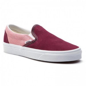 Black Friday 2020 | Vans Tennis Classic Slip-On VN0A38F7VLR1 (Chambray) Vanvas Port Ro
