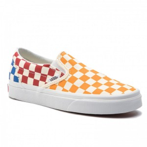 Black Friday 2020 | Vans Tennis Classic Slip-On VN0A38F7VLV1 (Checkerboard) Multi/True