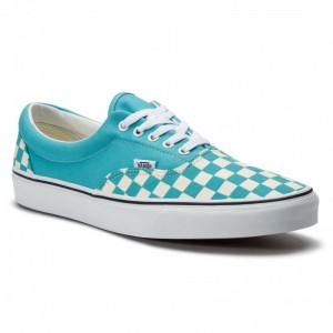 Vans Tennis Era VN0A38FRVOW1 (Checkerboard) Scuba Blue