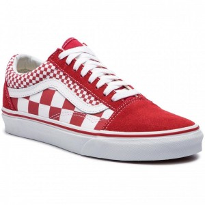 Black Friday 2020 | Vans Tennis Old Skool VN0A38G1VK51 (Mix Checker) Chili Peppe