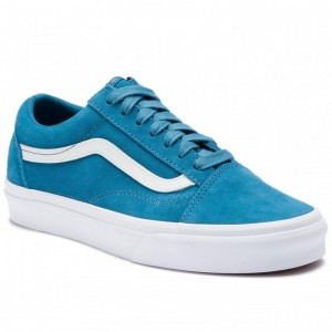 Black Friday 2020 | Vans Tennis Old Skool VN0A38G1VKD1 (Soft Suede) Blue Sapphir
