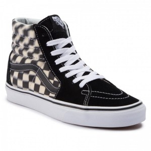 Black Friday 2020 | Vans Sneakers Sk8-Hi VN0A38GEVJM1 (Blur Check) Black/Classi