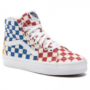 Vans Sneakers Sk8-Hi VN0A38GEVLV1 (Checkerboard) Multi/True