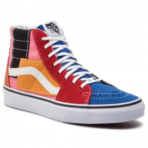 Black Friday 2020 | Vans Sneakers Sk8-Hi VN0A38GEVMF1 (Patchwork) Multi/True Wh