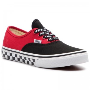 [Vente] Vans Tennis Authentic VN0A38H3VI71 (Logo Pop) Black/True Whi