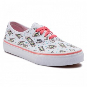 Vans Tennis Authentic VN0A38H3VI91 (Unicorn) True White/Stra