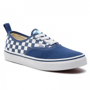Vans Tennis Authentic Elastic VN0A38H4VDX1 (Checkerboard) True Navy