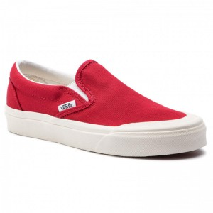 Black Friday 2020 | Vans Tennis Classic Slip-On 1 VN0A3TKBFTZ1 Tango Red