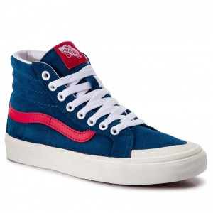 [Vente] Vans Sneakers Sk8-Hi Reissue 13 VN0A3TKPVSS1 Sailor Blue/Tango Red