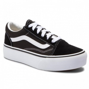 Black Friday 2020 | Vans Tennis Old Skool Platfor VN0A3TL36BT1 Black/True White