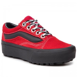 Vans Sneakers Old Skool Lug Pla VN0A3WLXVRX1 (90s Retro) Chili Pepper