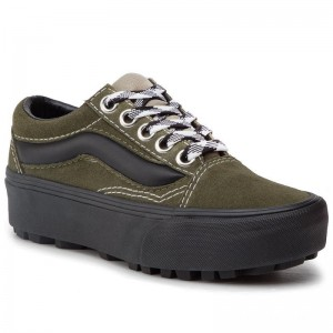 Black Friday 2020 | Vans Sneakers Old Skool Lug Pla VN0A3WLXVRY1 (90s Retro) Grape Leaf/Bl