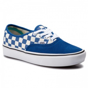 Black Friday 2020 | Vans Tennis Comfycush Authent VN0A3WM7VNA1 (Checker) Lapis Blue/True