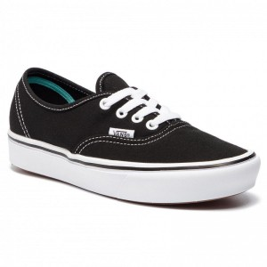 Black Friday 2020 | Vans Tennis Comfycush Authent VN0A3WM7VNE1 (Classic) Black/True Whit