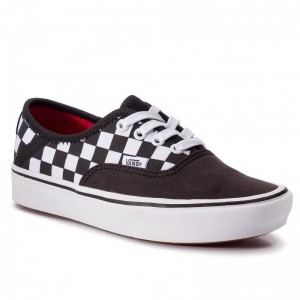 Black Friday 2020 | Vans Tennis Comfycush Authe VN0A3WM8VN81 (2 Tone) Black/Checkerboa