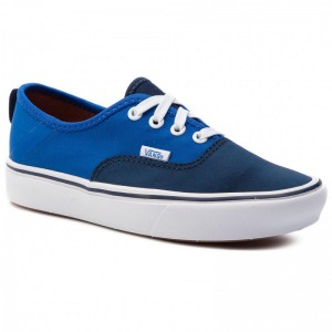 Black Friday 2020 | Vans Tennis Comfycush Authe VN0A3WM8VN91 (2 Tone) Dress Blues/Lapi